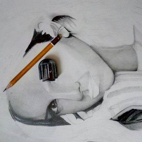 Портрети олівцем | Поп-арт | Картини маслом | Настінний розпис