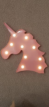Ночник LED светильник единорог