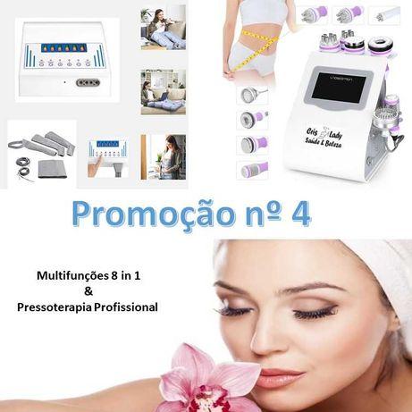Máquina Multifunções cavitação 8 in 1 e Pressoterapia  - Promoção Nº 4