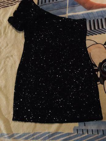Платье паетки New look