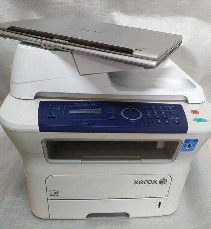 Xerox WC3220+ноутбук. Год гарантии. Лазерный принтер сканер копир МФУ