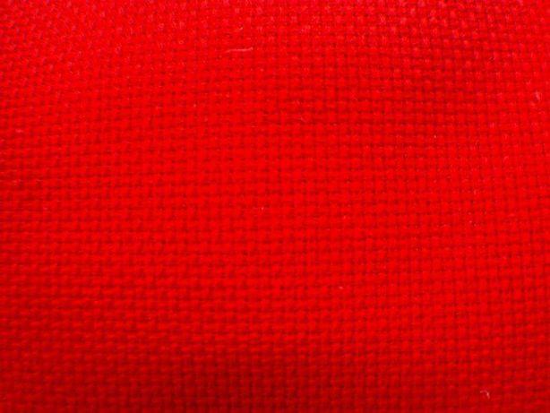 Tecido quadrile vermelho