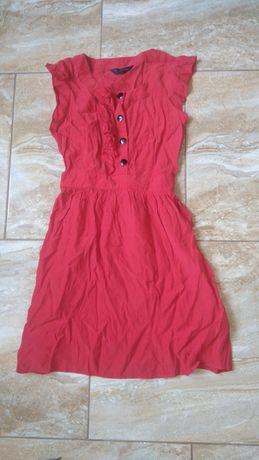 Sukienka roz 34 czerwona
