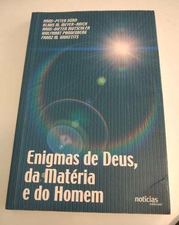 NOVO Livro Enigmas de Deus da Materia e do Homem