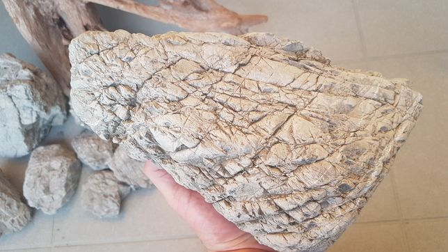 Kamienie do akwarium lub terrarium