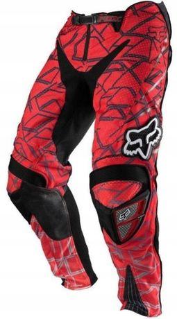 Nowe spodnie motocyklowe FOX PLATINUM motocross rozmiar 32