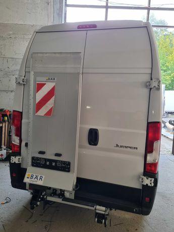 Winda Bar do Citroen Jumper Fiat Ducato furgon z montazem.