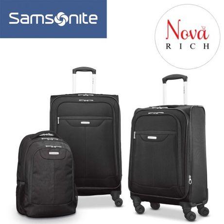 Чемодан комплект Samsonite Tenacity 2 Два чемодана и рюкзак Оригинал