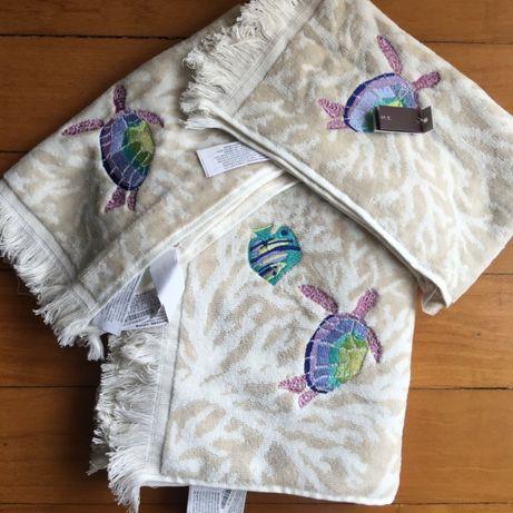 Conjunto 1 toalha de rosto e 2 de mãos Zara Home novas