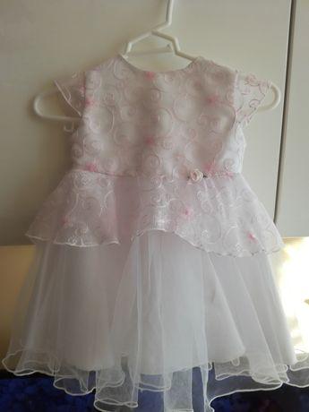 Komplet sukienka do chrztu 68