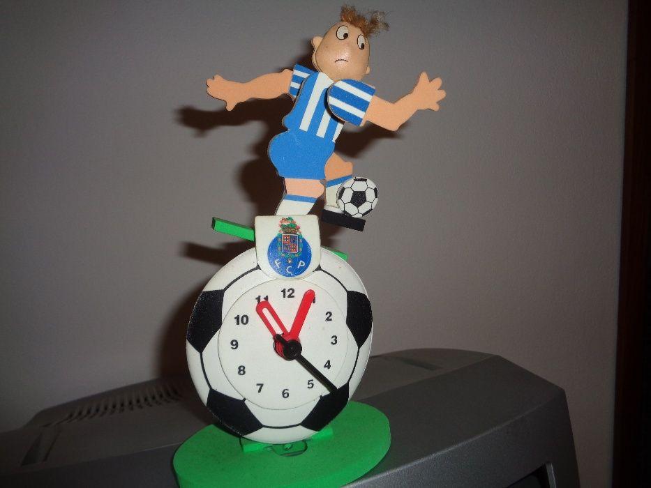 Relógio Com Boneco Futebol Clube do Porto Oferta Portes
