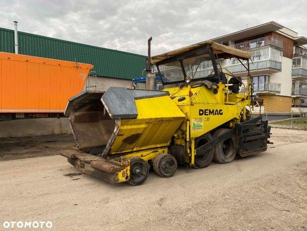Demag DF 130P DF-130P Demag 110P 110C 130C  Rozściełacz asfaltu podbudowy Demag DF 130P 8x6