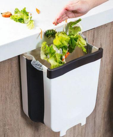 Складной мусорный контейнер на двери Kitchen Wet garbage FLEXIBLE BIN,