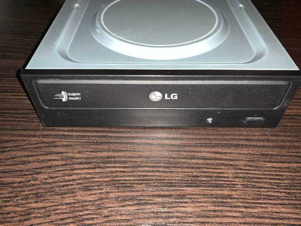 Оптический привод пишущий DVD±RW DVD RAM LG SuperMulti GH22NS70 Черный