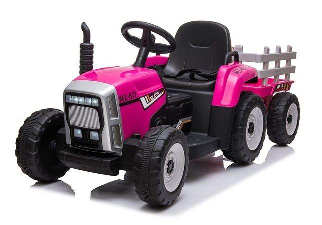Traktor na Akumulator z Przyczepą XMX611