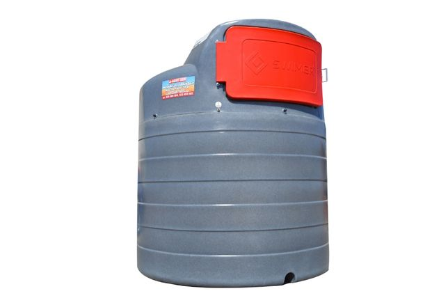 Zbiornik do paliwa dwupłaszczowy, paliwo ON, 1500L SWIMER BASIC