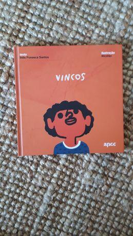 Livro Vincos de Inês Fonseca Santos