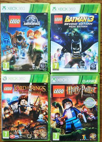 Lego gry Xbox 360
