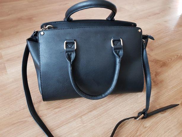 Torebka torba  damska czarna
