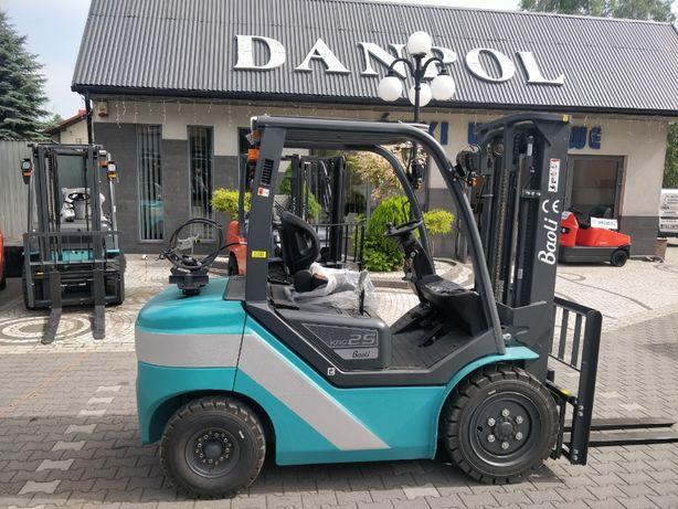 Wózek widłowy Baoli Kion KBG25+ Nissan 2,5 tony nowy 2020r widlak