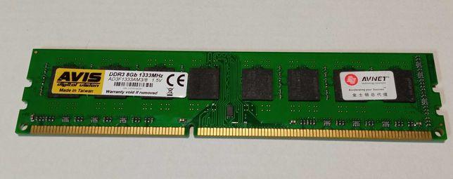 Оперативная память DDR3-1333 8Gb