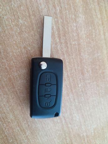 Корпус ключа Citroen, Peugeot