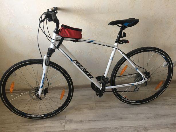 Велосипед Merida Crossway 20-d гибрид, городской