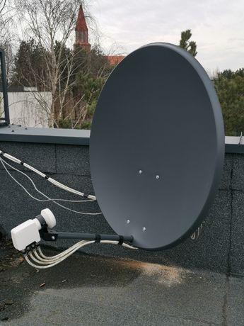 Montaż i instalacja anten  Satelitarnych i RTV  Kalisz +60 km