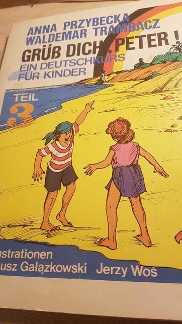 Nauka języka niemieckiego ilustracje super dzieci.