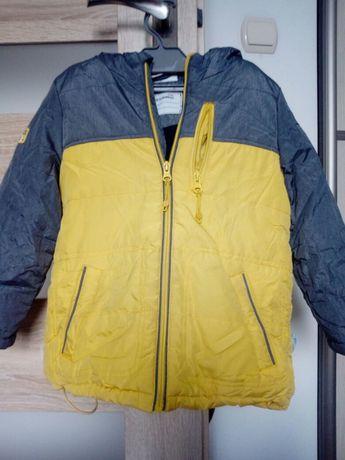 Zimowa kurtka dla chłopca rozm 104.