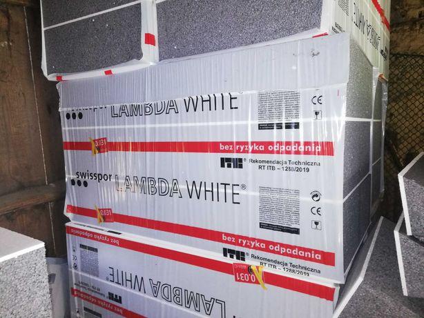 12 paczek styropianu Swisspor Lambda white - 18 cm