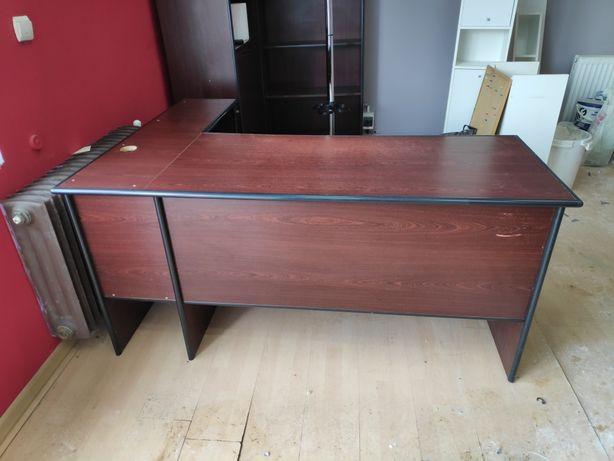 Meble biurowe, 2x biurka, 2x regał