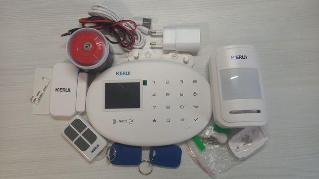 Продам Wi-Fi GSM сигналізацію Kerui W20 для приміщень, встановлення