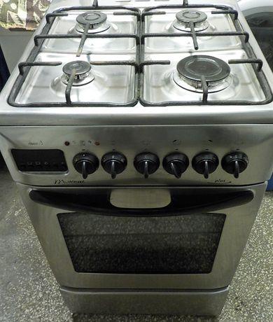 Kuchnia gazowa Mastercook, inox, 50cm, używana