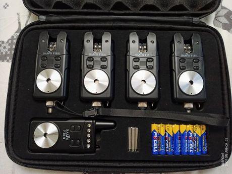 Сигнализаторы поклёвки с пейджером 4+1