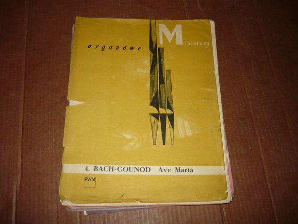 Miniatury organowe Bach-Gounod Ave Maria