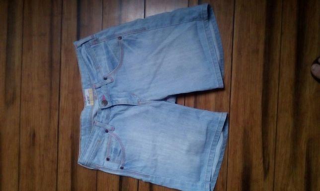 Szorty, spodenki jeansowe Lee