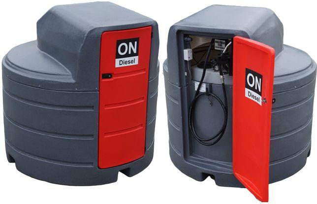 Zbiornik ZBIORNIKI na paliwo dwupłaszczowy 2500L 1500L - mobilne 460