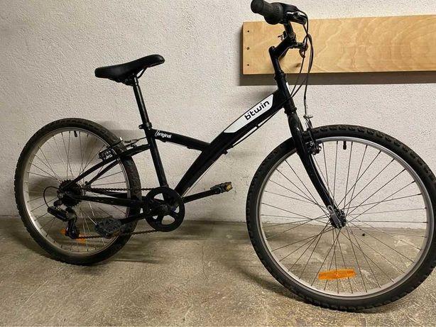 Bicicleta BTWin Roda 24 praticamente nova