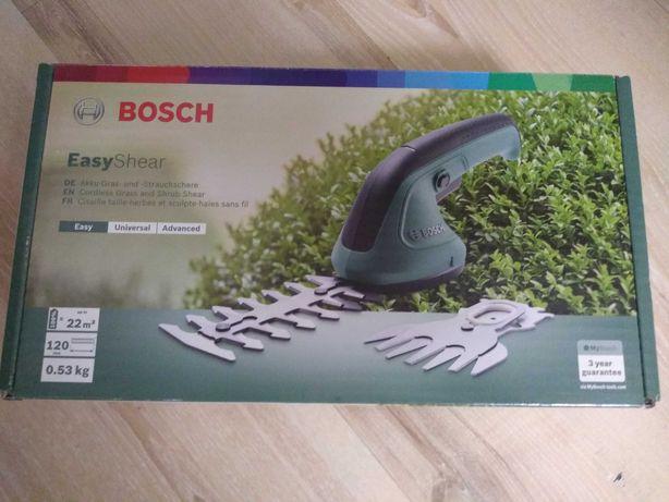 Bosch easyshear nożyce NOWE do żywopłotów krzewów trawy