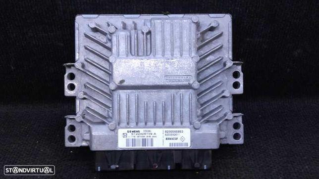 S122326109A , 8200565863 , 8200592611  Centralina do motor RENAULT SCÉNIC II (JM0/1_) 1.5 dCi (JM1E, JM16) K9K 732