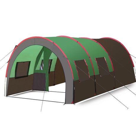 Туннельный тент, Палатка туристическая - кемпинговая 8-10 местна SHARk