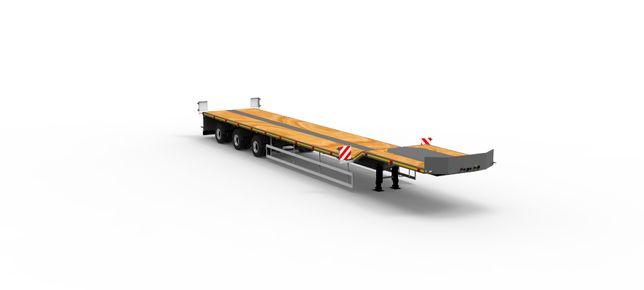 Полуприцеп платформа TUR MEGA 30-3T