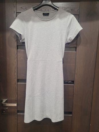 Szara sukienka dresowa rozmiar L