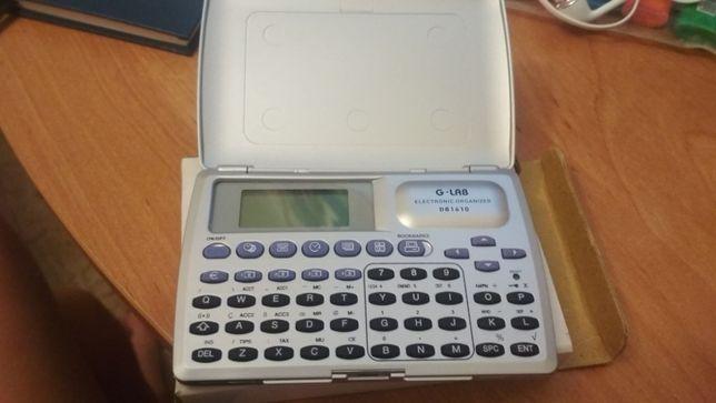 Elektroniczny organizer G-LAB model DB 1610