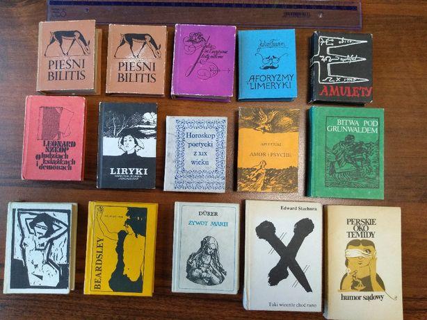 Książki miniaturki. Bibliofilska edycja miniatur. Dla kolekcjonera
