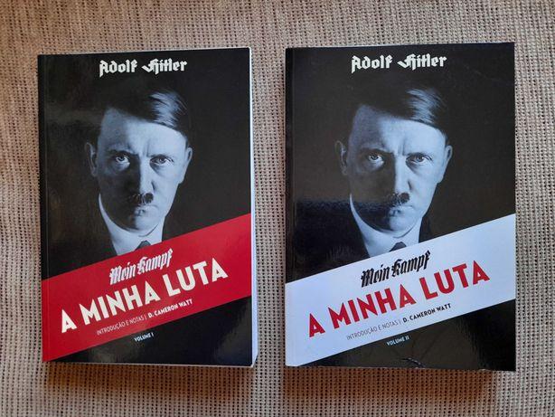 A Minha Luta - Adolf Hitler (2 vol.) / Portes Grátis