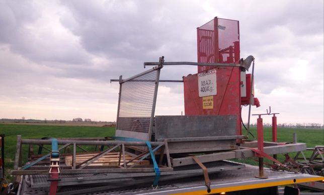 Winda budowlana 400kg wys.40m podnośnik zwyżka