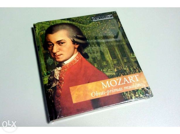 Cd audio obras primas de mozart