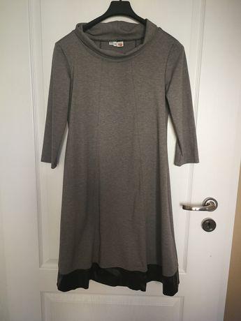 Sukienka z grubej bawełny w rozmiarze 36